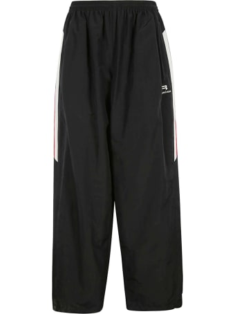 Balenciaga Wide Leg Logo Trousers