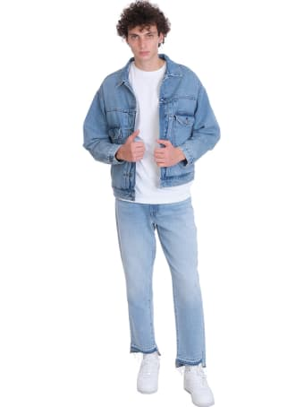 Levi's Oversize Type Ii Trucker Jacket Denim In Blue Denim