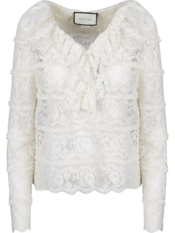 Gucci Lace Blouse