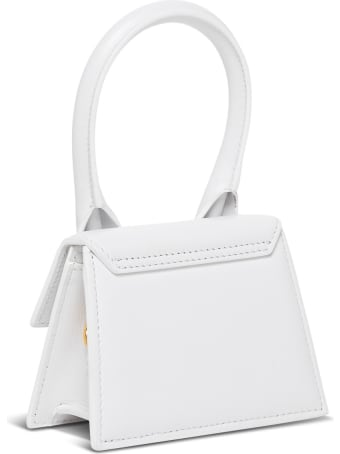 Jacquemus Le Chiquito Handbag In White Leather