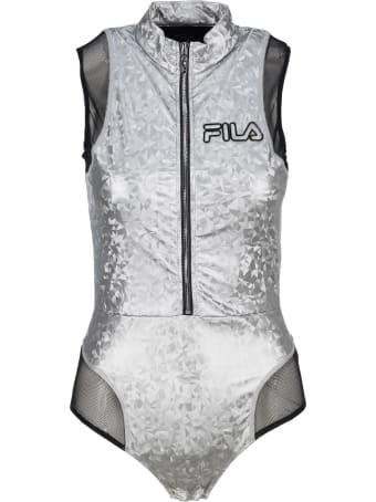 Fila Geometric Print Bodysuit