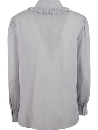 Celine Ruffled Detail Shirt