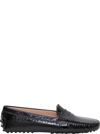 Tod's Gommino Patent Letaher Driving Shoes