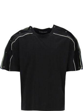 Y/Project Triple T-shirt With Buttons