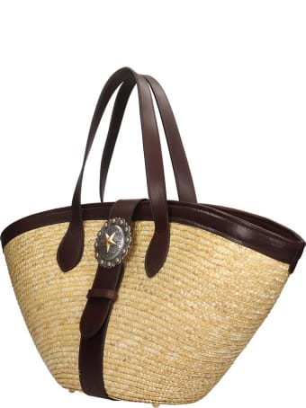 Kate Cate Beach Bag M Tote In Beige Tech/synthetic