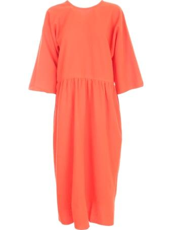 Sofie d'Hoore 3/4s Dress Pleats All Around Waist