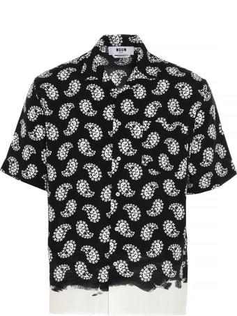 MSGM 'paisley' Shirt