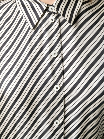 Joseph Striped Silk Shirt