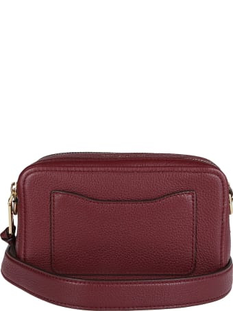Marc Jacobs Muscat Red Leather Softshot 21 Bag