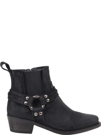 Cinzia Araia Black Boots For Kids