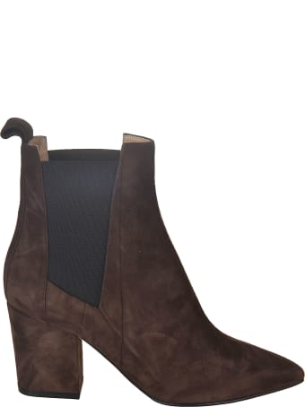 Sergio Rossi Side Elastic Detail Boots