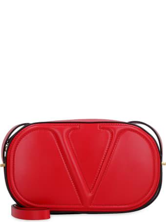 Valentino Valentino Garavani - Vlogo Walk Leather Camera Bag