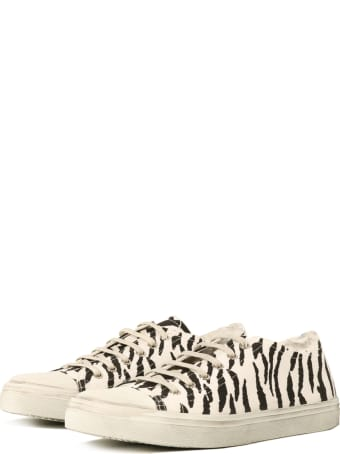 Saint Laurent Sneakers Zebra Print
