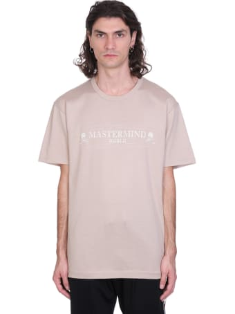 MASTERMIND WORLD T-shirt In Beige Cotton