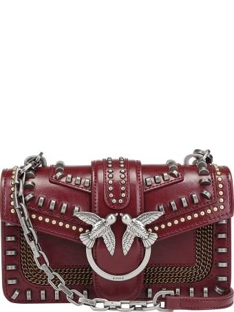Pinko Mini Love Mix Shoulder Bag