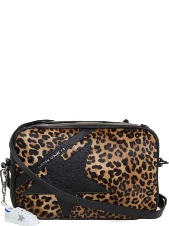 Golden Goose Star Bag Shoulder Bag In Leather And Horses