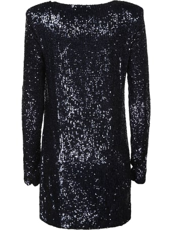 Saint Laurent Sequin-coated Dress