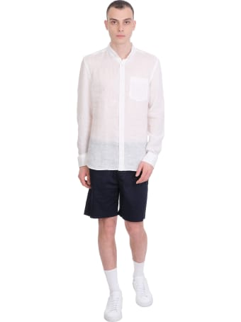 Mauro Gasperi Shorts In Blue Cotton