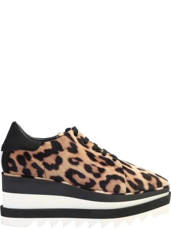 Stella McCartney Elyse Leopard Print Sneakers