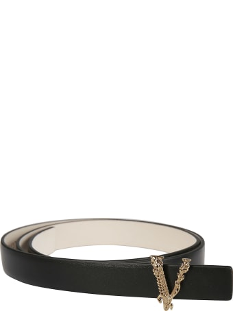 Versace V Buckle Belt