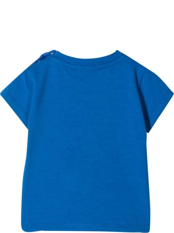 Molo Blue T-shirt With Print