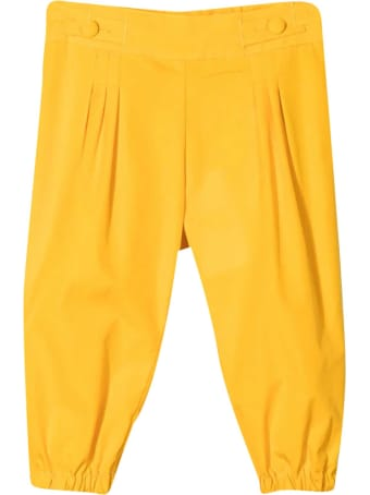 Fendi Yellow Trousers