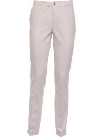 Re-HasH Re-hash White Cream Trousers