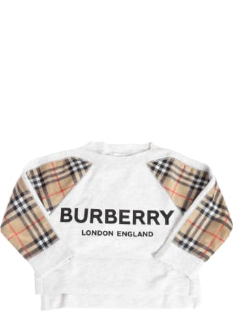 Burberry Esther Checked Sweatshirt