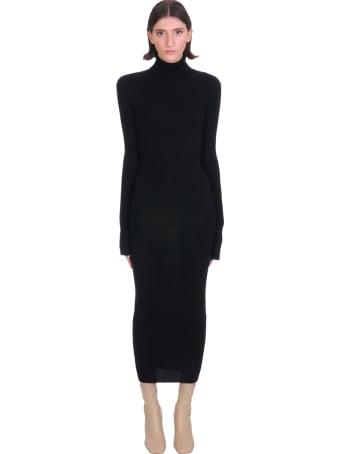 Jacob Lee Dress In Black Cashmere