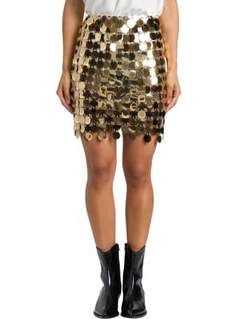 Paco Rabanne Short Skirt Round Pastilles Assemblage