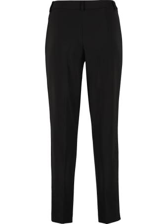 Boutique Moschino High-waist Crêpe Trousers
