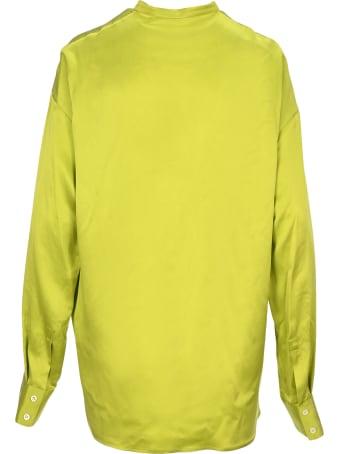 Haider Ackermann Oversized Silk Shirt