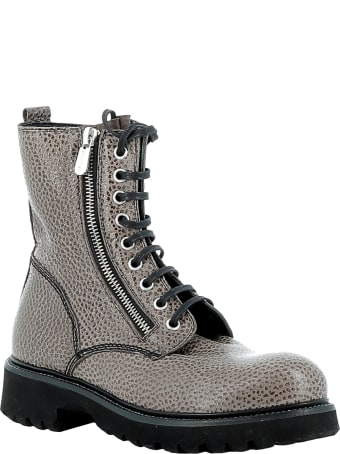 Rocco P. Tortora Leather Ankle Boots