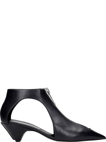 Stella McCartney Flats In Black Polyester