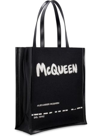 Alexander McQueen Logo Detail Tote Bag
