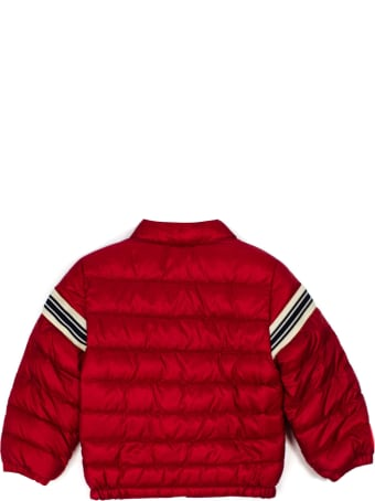 Moncler Red Feather Down Padded Jacket