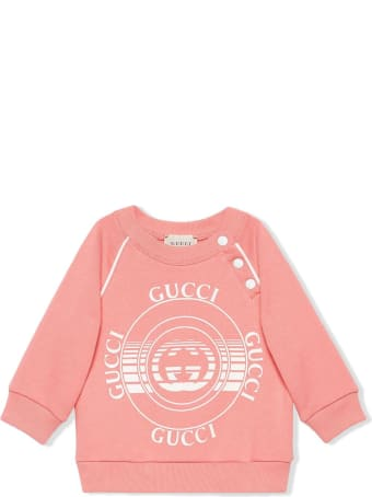 Gucci Pink Organic Cotton Sweatshirt