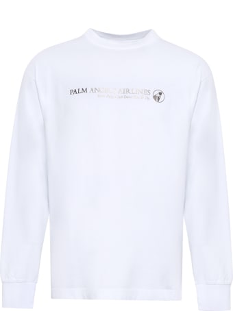 Palm Angels Printed Cotton T-shirt