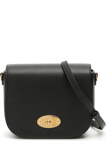 Mulberry Grain Leather Small Darley Satchel Bag