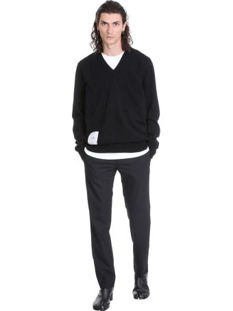 Maison Margiela Knitwear In Black Wool