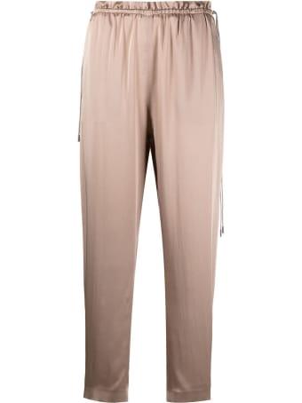 Fabiana Filippi Pink Satin Pants