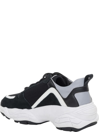 Pollini Sneakers With Platform Sole