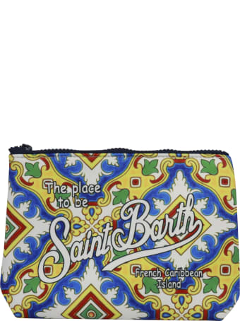 MC2 Saint Barth Aline Barcellona Tile 01 Pocket Square