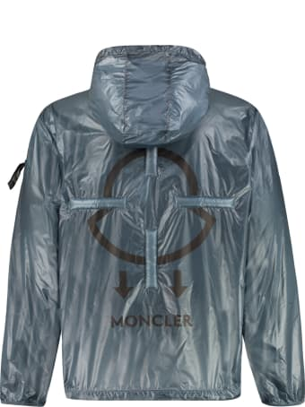 Moncler Peeve Technical Fabric Hooded Jacket