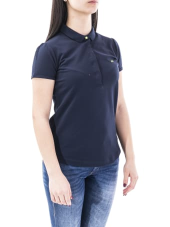 Sun 68 Sun68 Blend Cotton Polo Shirt