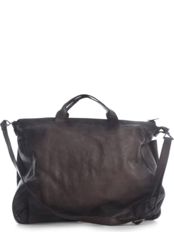 Numero 10 Work Bag Horse Leather Double Lace