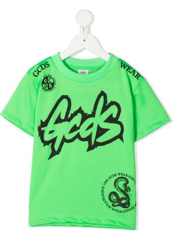 GCDS Mini Logo Print T-shirt
