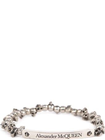 Alexander McQueen Mini Skull Silver Bracelet