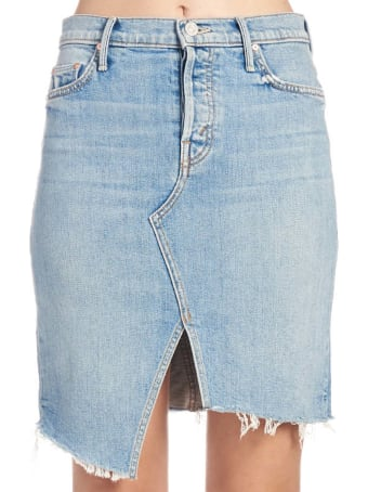 Mother 'the Tomcat Slide Mini Fray' Skirt