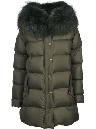 Mr & Mrs Italy Fur Trim Down Jacket